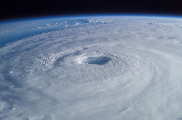 2003 Hurricane Isabel photographed from the International Space Station