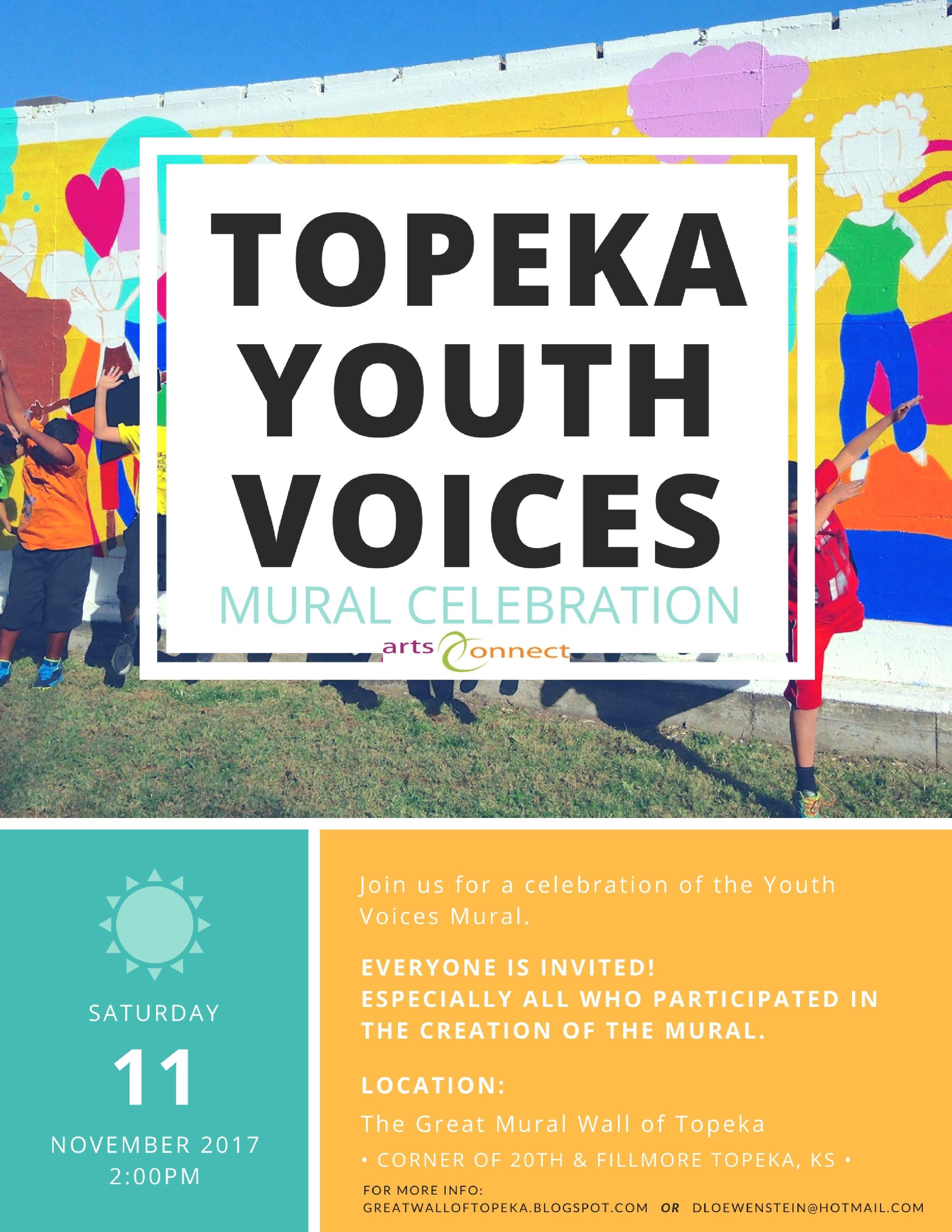 Youth Voices Mural Connie Fiorella Fitzpatrick