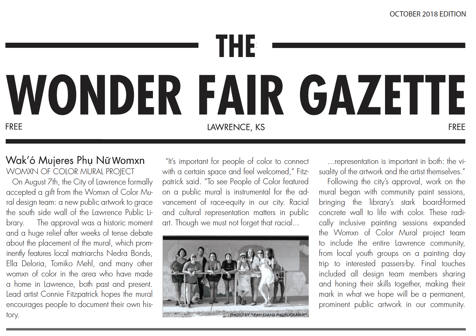 Wonder Fair Gazette