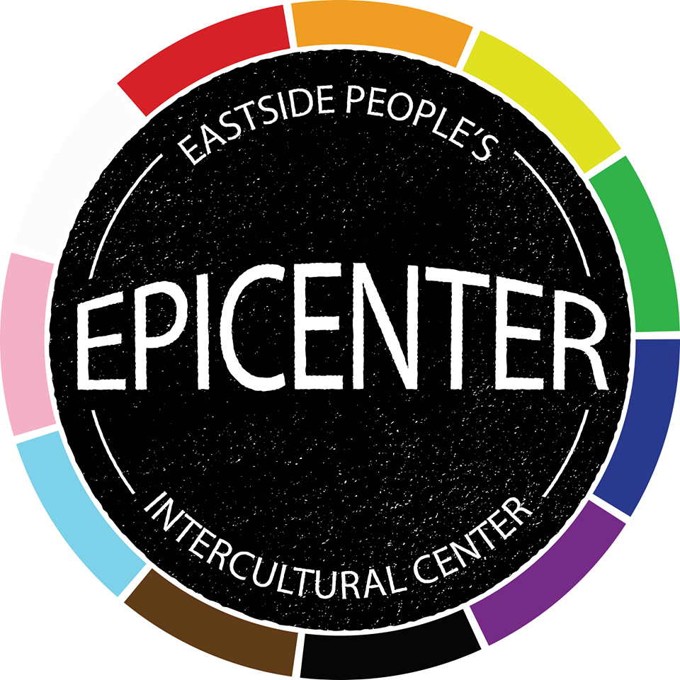 Epicenter,  which stands for East Side People's Intercultural Center, is an up and coming arts-based organization celebrating and supporting the cultures and stories of underrepresented groups in Lawrence, especially people of color.