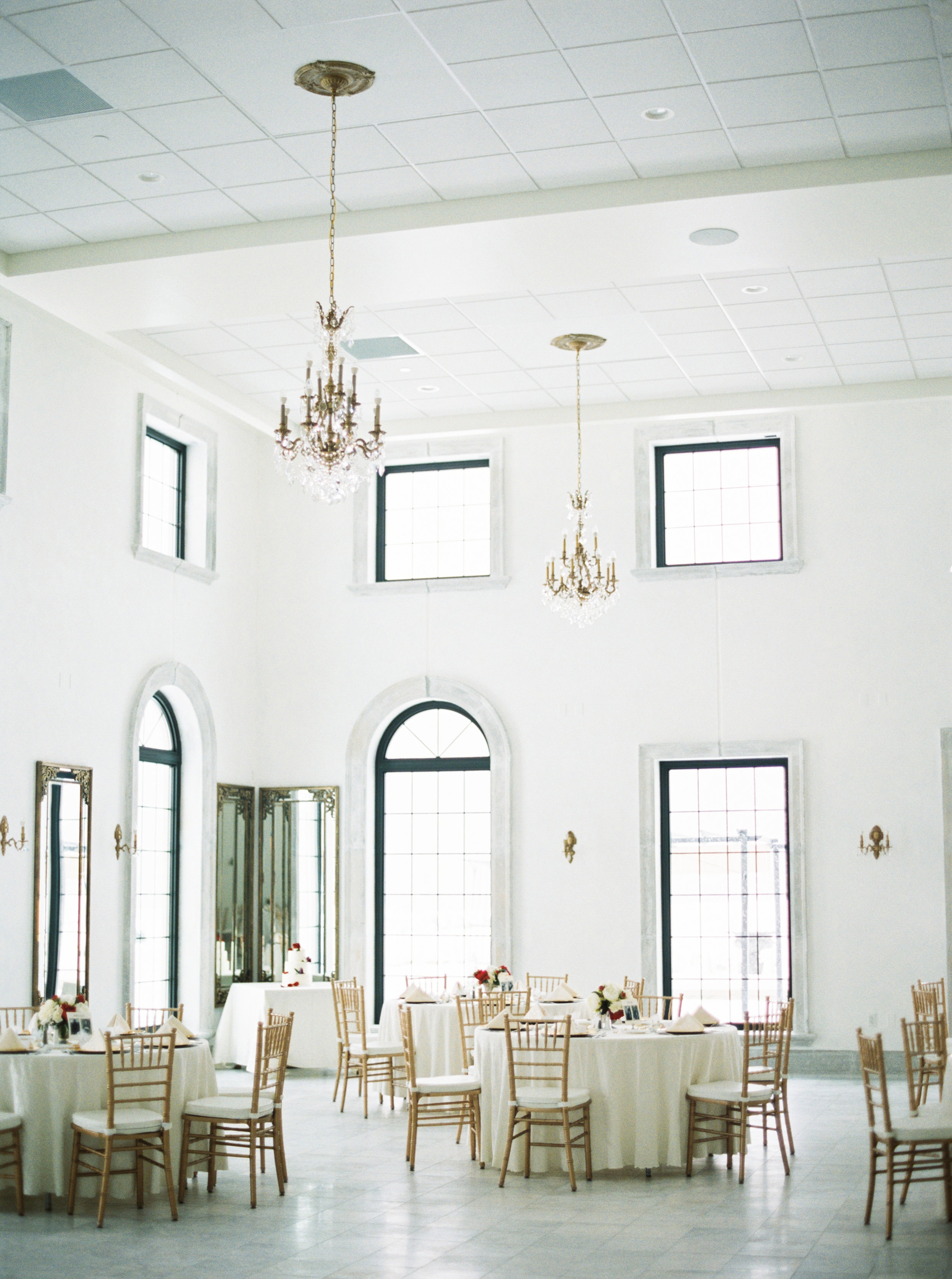 For a indoor, elegant wedding; Chateau is the place to be. It has plenty of indoor space, AMAZING food and great staff. I especially love the old school band performing smooth covers of Frank Sinatra, Dean Martin and other oldies favorites. Tons of natural indoor light with a french theme, plenty of parking and a outdoor patio space.http://chateaueagle.com/
