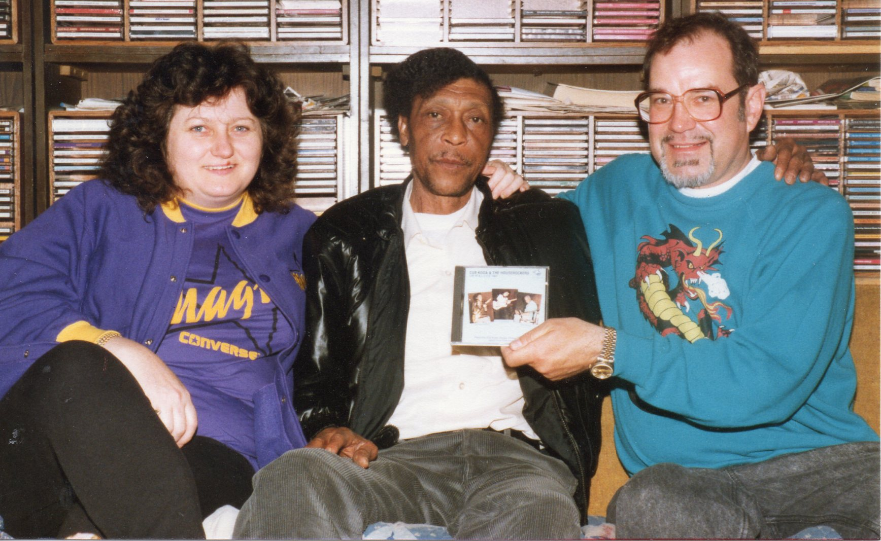 Hound Dog Taylor of the House Rockers & Susan & John Forward
