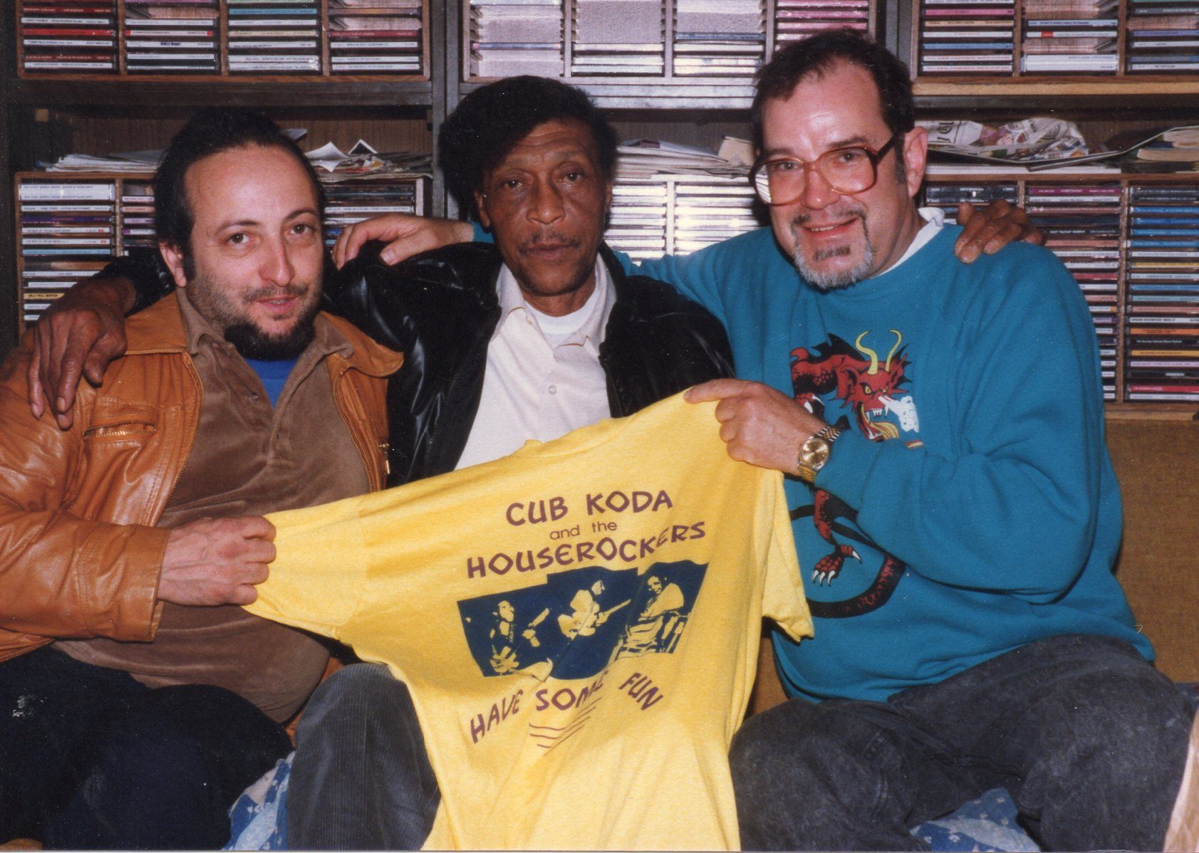 Brewer Phillips of Hound Dog Taylor & the House Rockers & Ron Bartolucci & John Forward