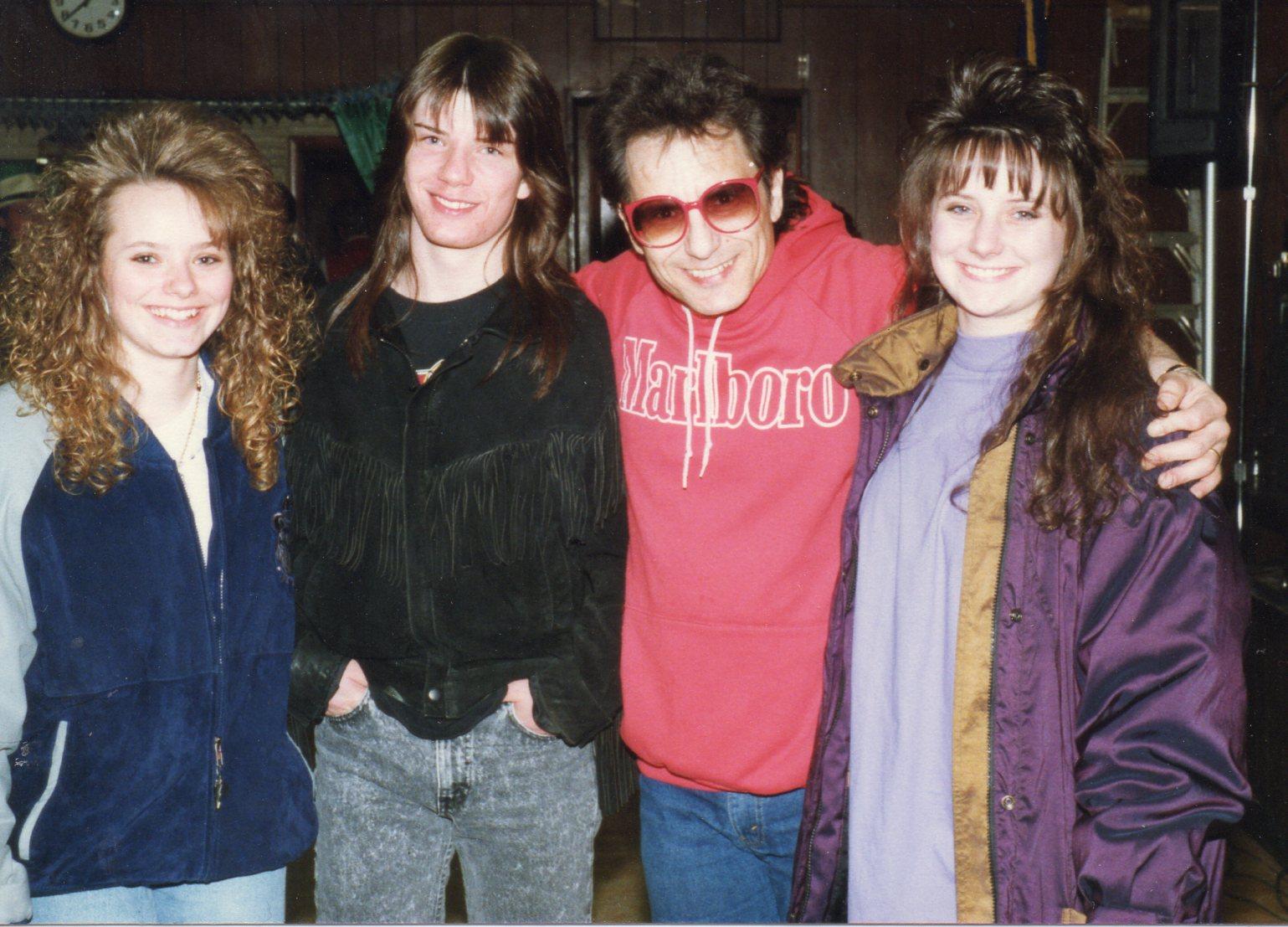 Cub Koda With Brenda & Lisa Hughes
