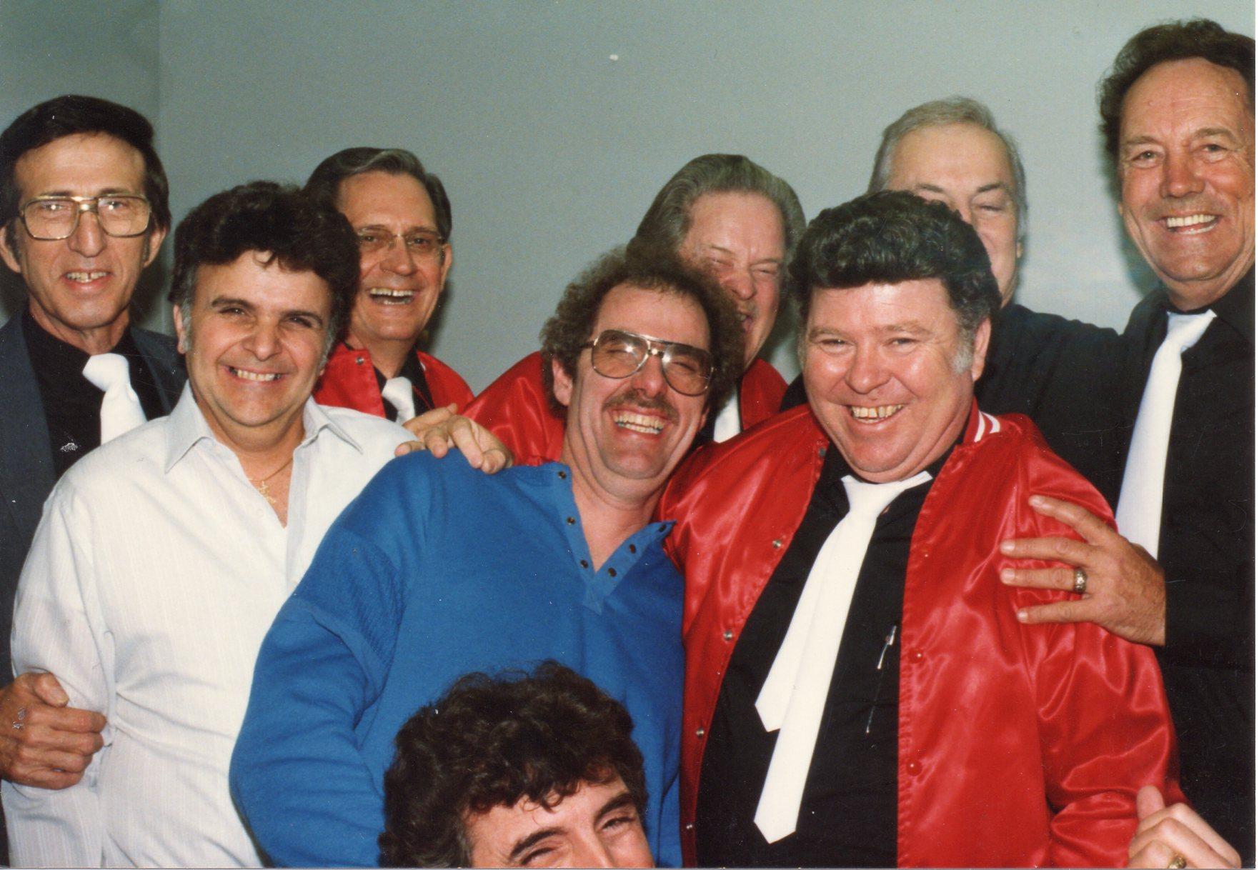 D.J. Fontana, Stan Kessler, Marcus Van Story, Sonny Burgess,Paul Burlison & J.L. Smoochy Smith (With Vic Layne).jpg
