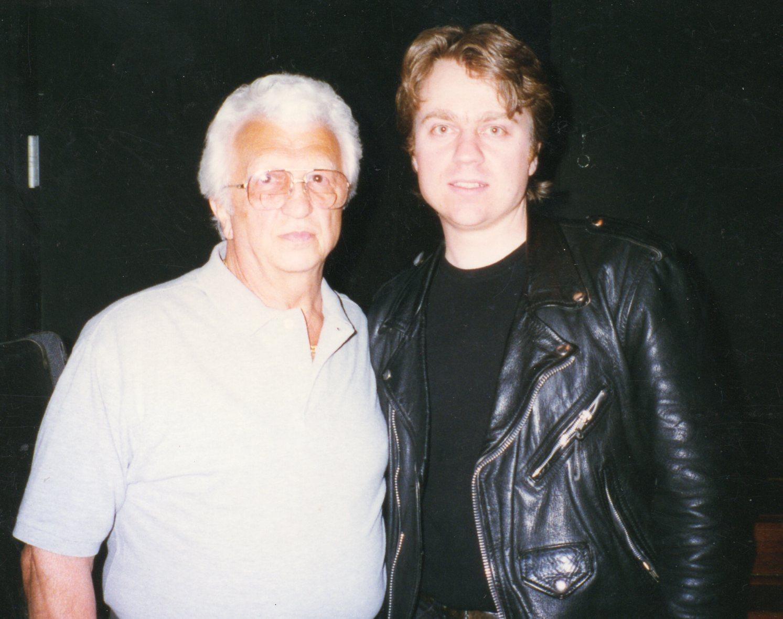 Tom Hambridge with Dr. Nick