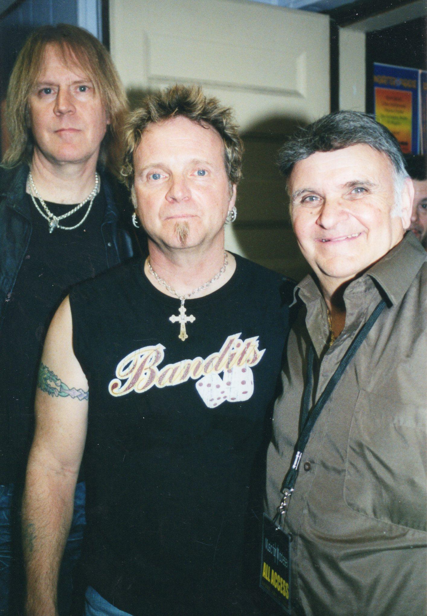 Tom Hamilton & Joey Kramer (Aerosmith)
