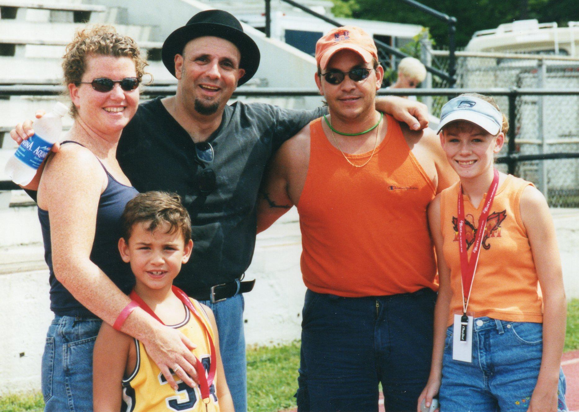 Sal Baglio (The Stompers) With Kathy Gillis, Wayne, Alyssa & Alex Cocorochio