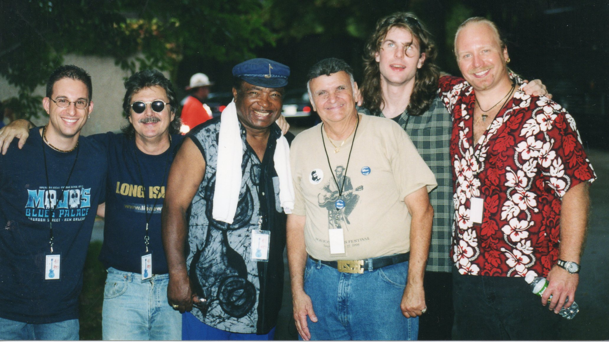 """Sam """"Bluesman"""" Taylor & His Band"""
