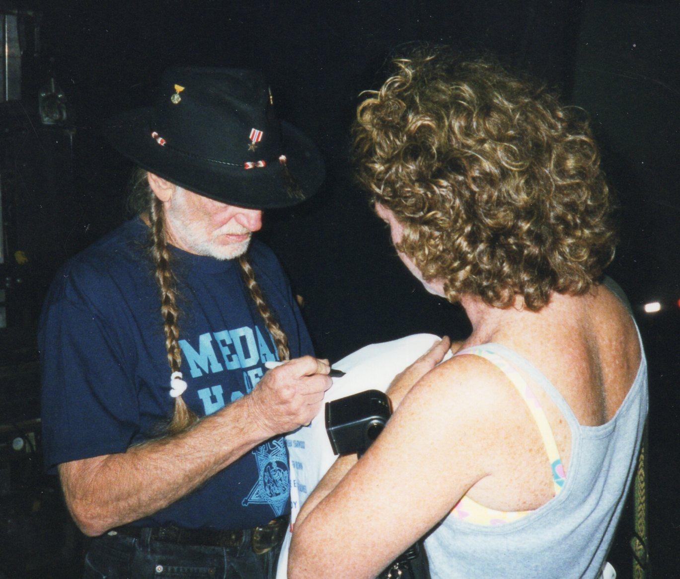 Willie Nelson & Kathy Gillis