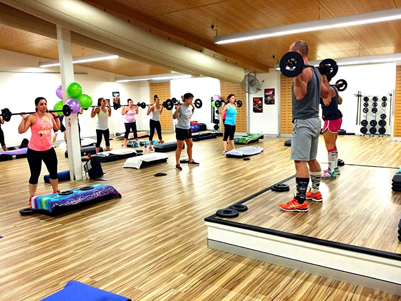 Group Classes - Choose from 85+ classes!