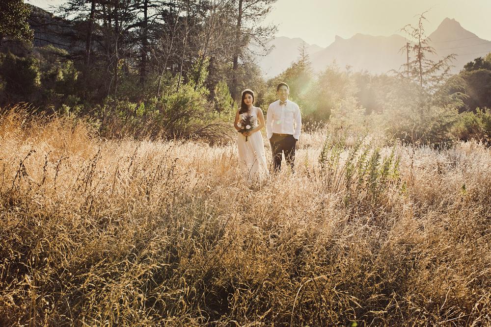 Malibu Engagement Photo