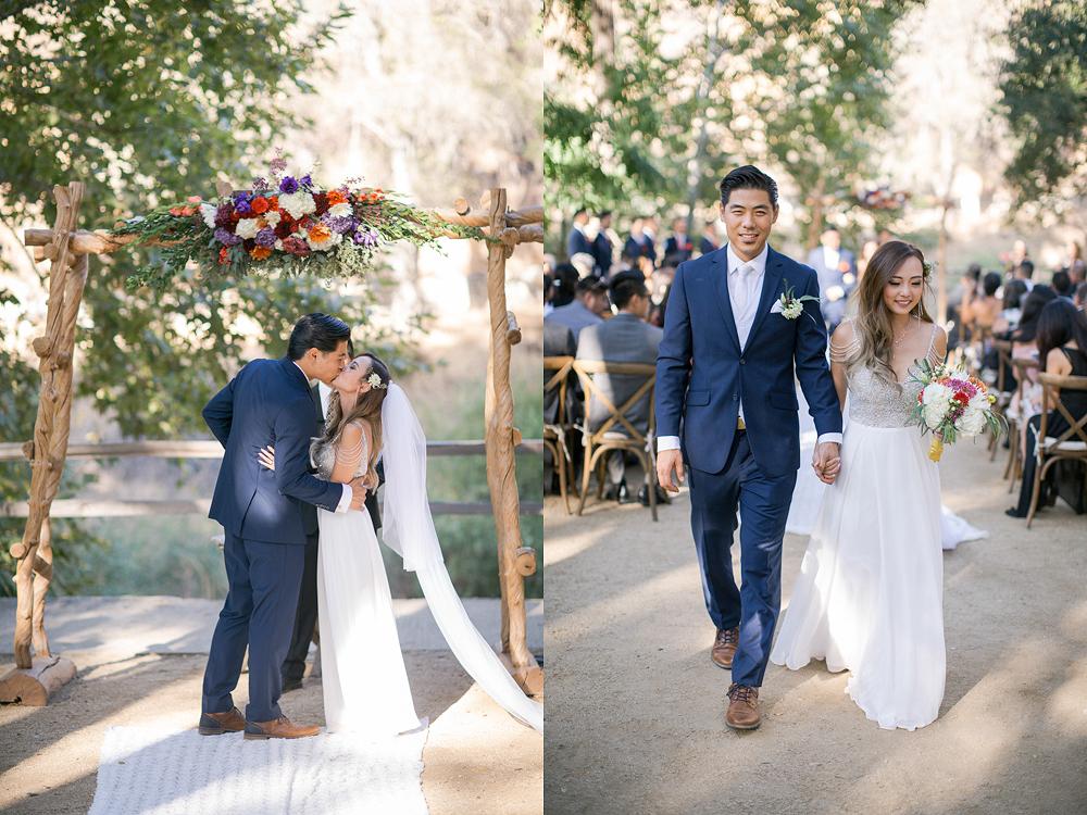 Oak Canyon Ranch in Malibu Wedding Photo