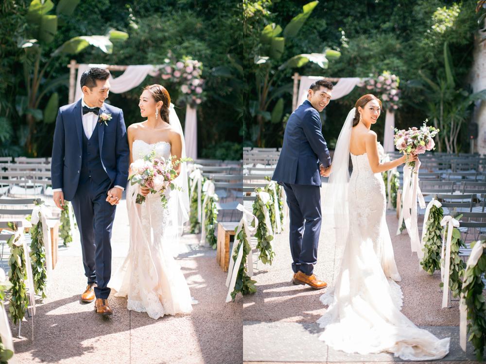 Millwick in Los Angeles Wedding Photo