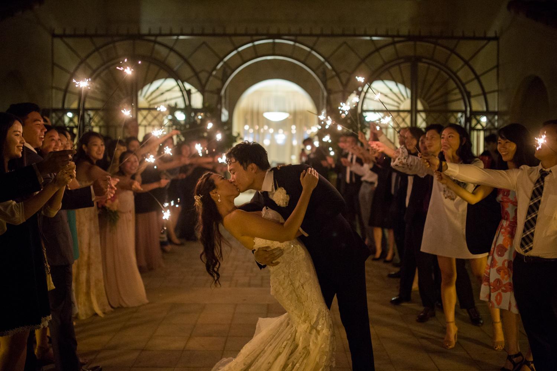 Serra Plaza in San Juan Capistrano Wedding Photo