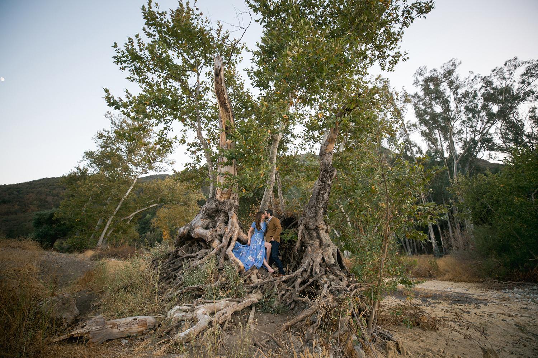 Malibu Nature Engagement Photo