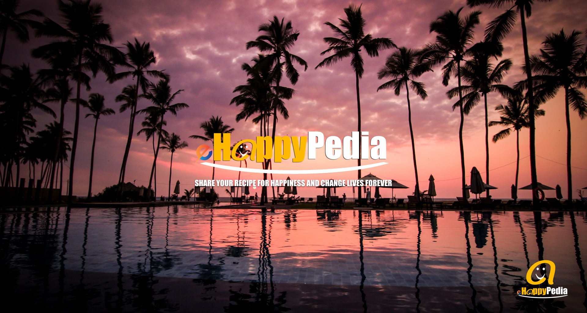 sunset pool beach palm tree.jpeg