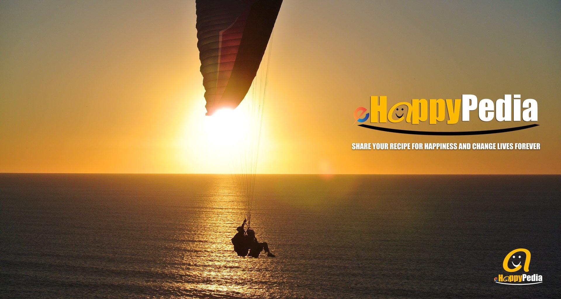 sunset couple flying beach sea.jpeg