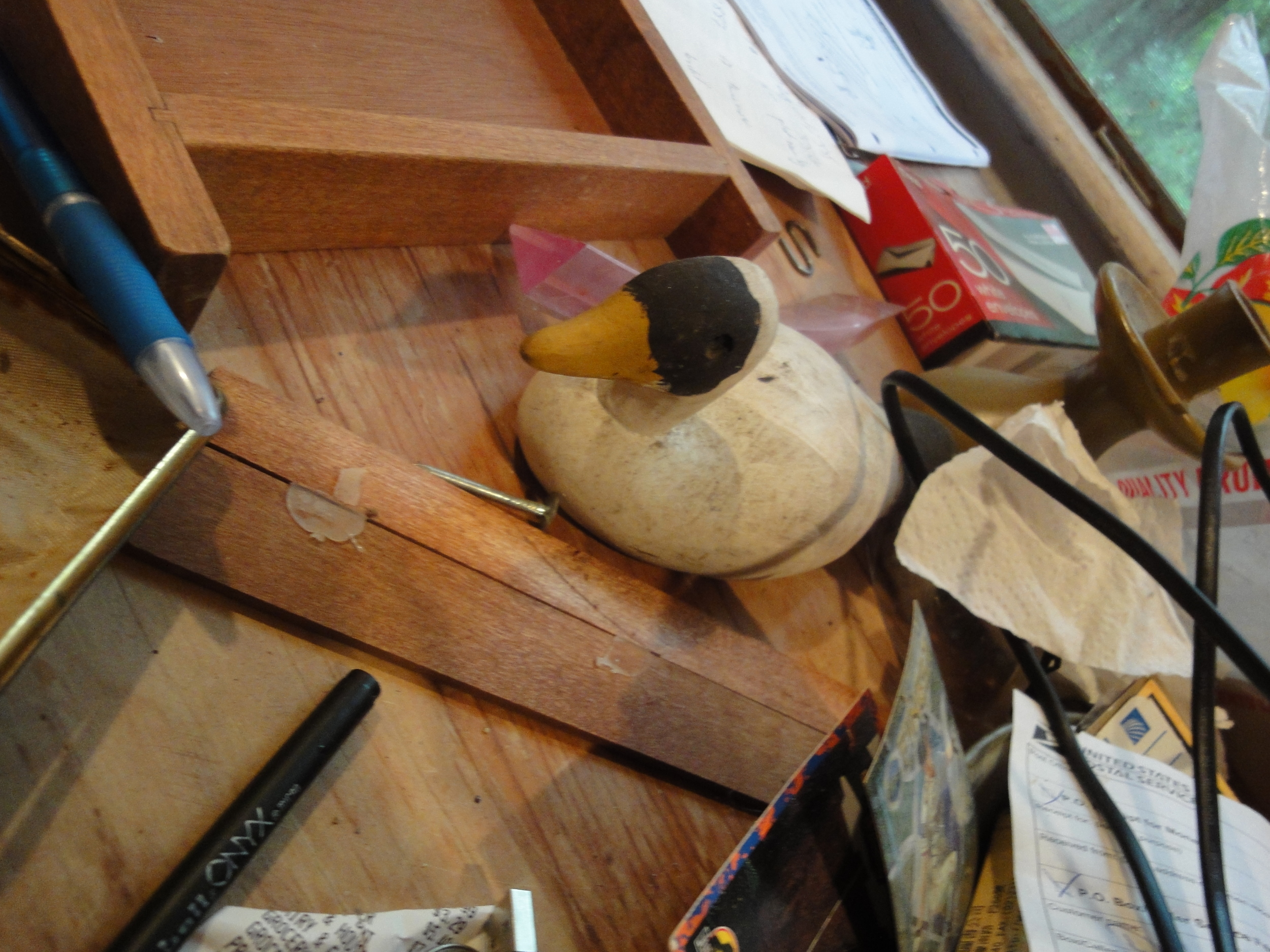 Duck, Library Bedroom.JPG
