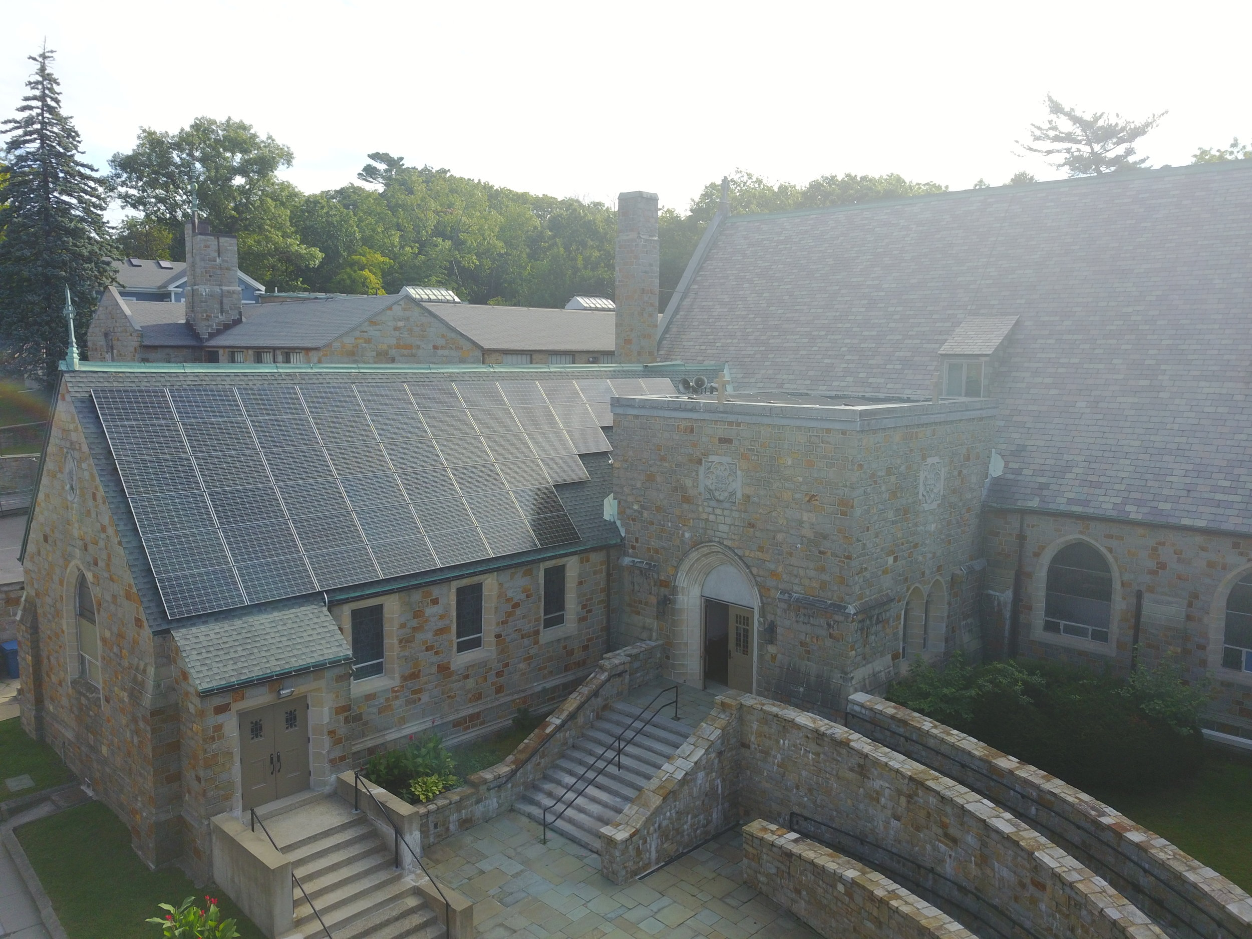 """""""As a community of faith, it's really important for us to live our faith in everything that we do. These solar panels are really important to us in terms of living out our witness, to say that it's time for a clean energy future and we need to demonstrate that in our actions and the way we live as a church."""" -  Rev. Mariama White-Hammond"""