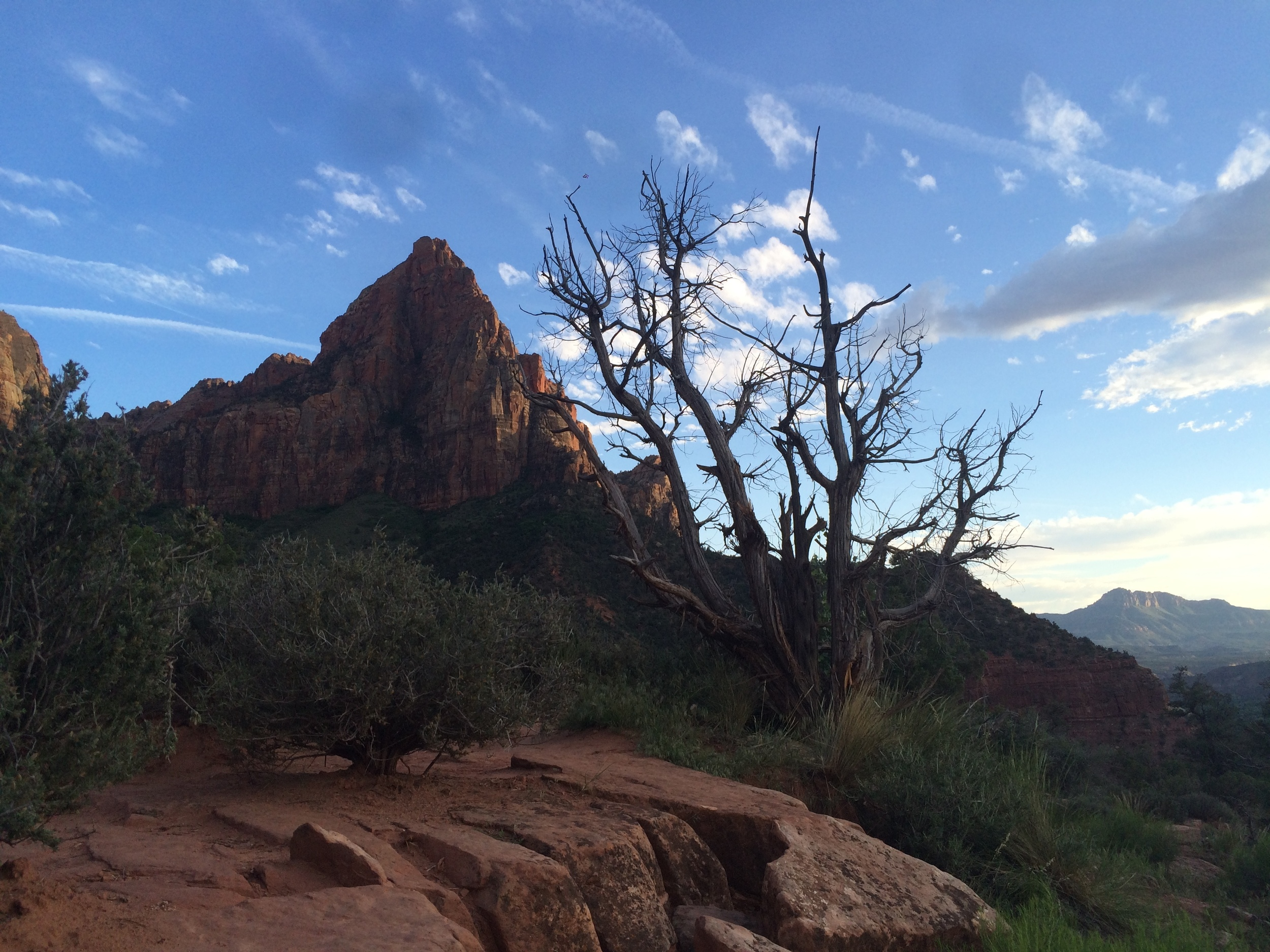 Sunset Watchman Hike