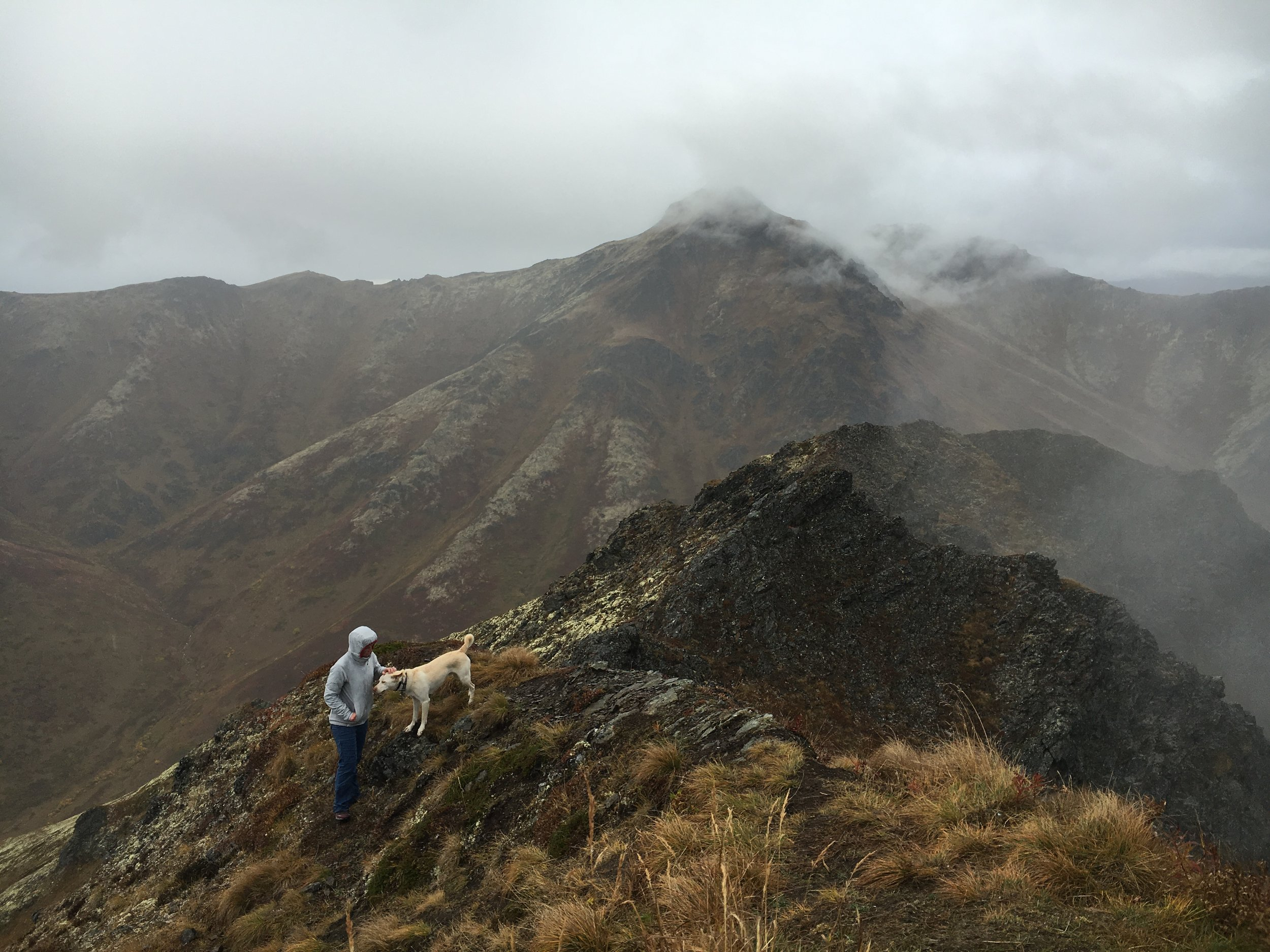 Approaching the summit of Mt. Magnificent