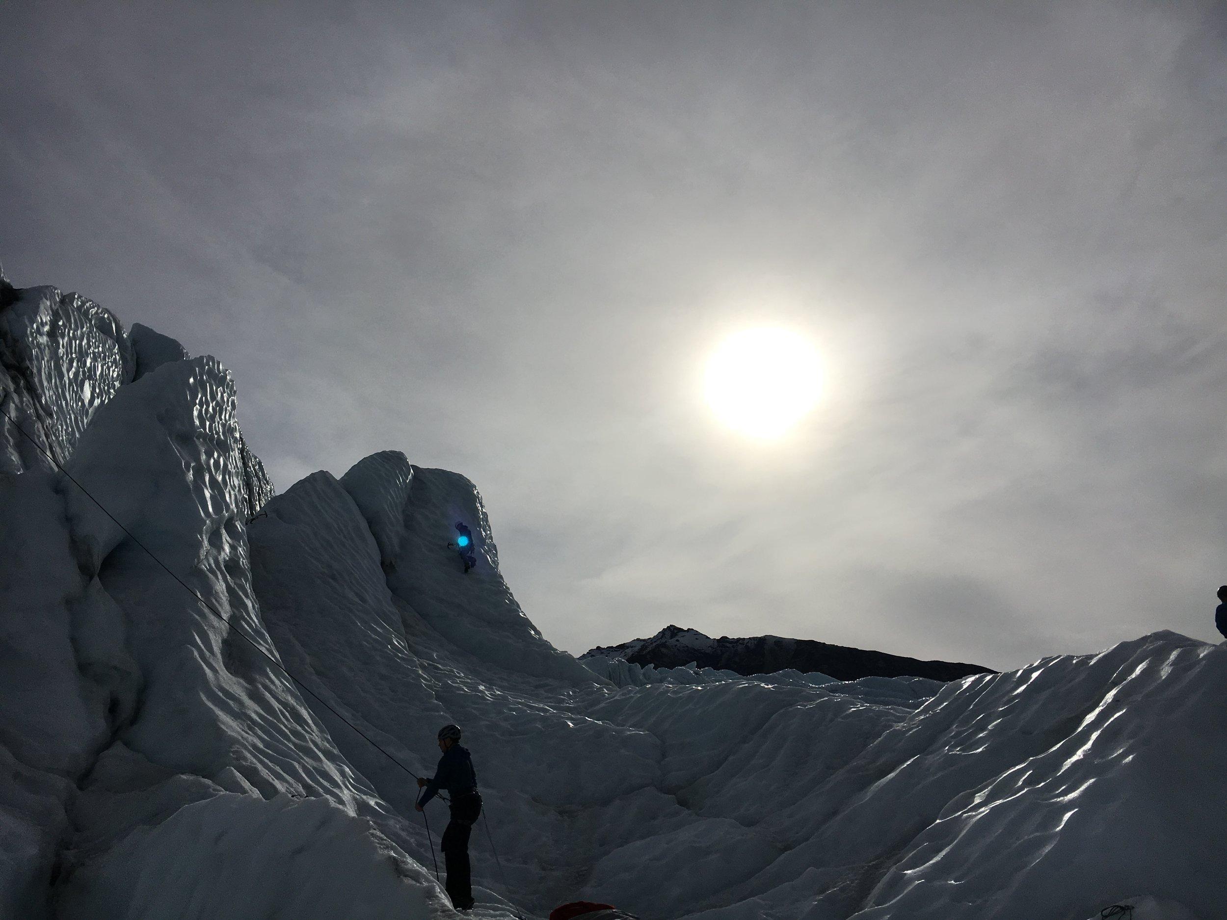 Ice Fest... Climbing fun for everyone!
