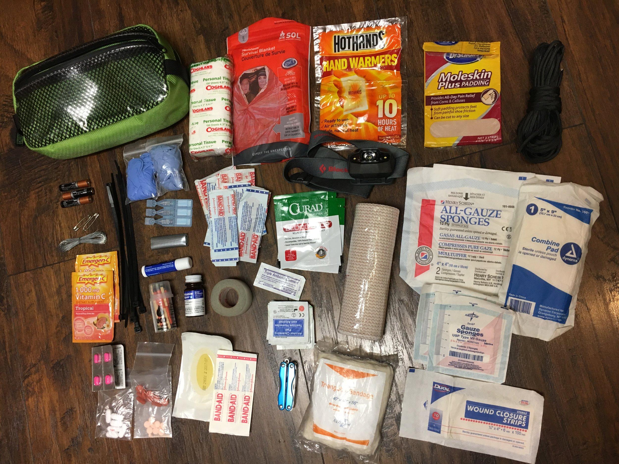 downloadable Emergency Kit List
