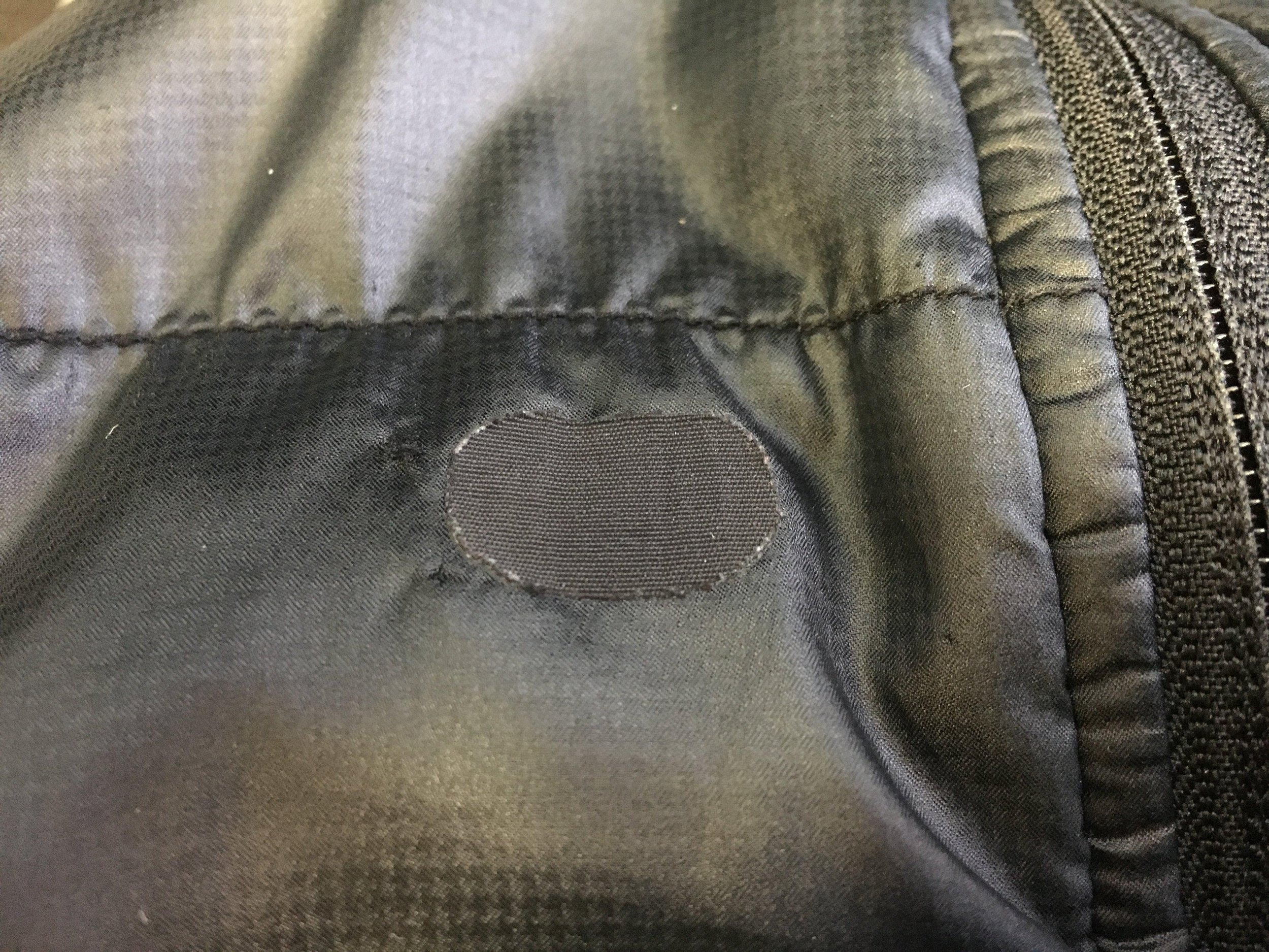 My vest was the unfortunate victim of a cat bathing incident