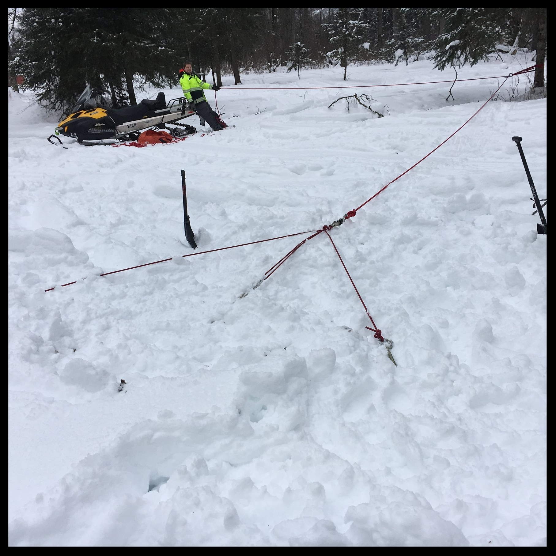 How strong are snow anchors? We tested them to find out!