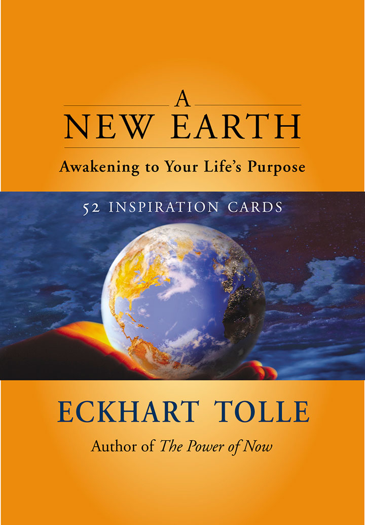 A NEW EARTH INSPIRATION DECK  Eckhart Tolle