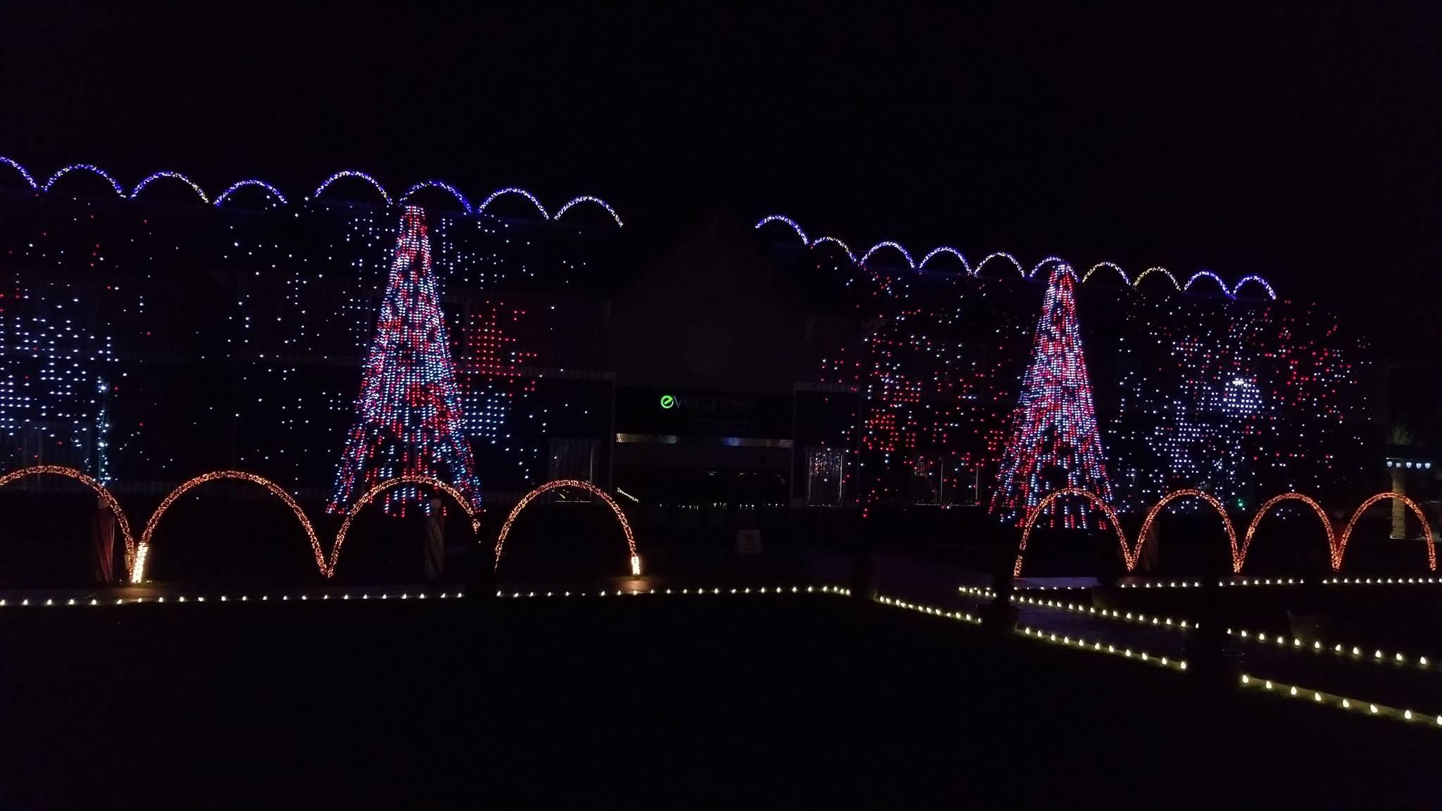 Christmas Lights Evergreenchurch