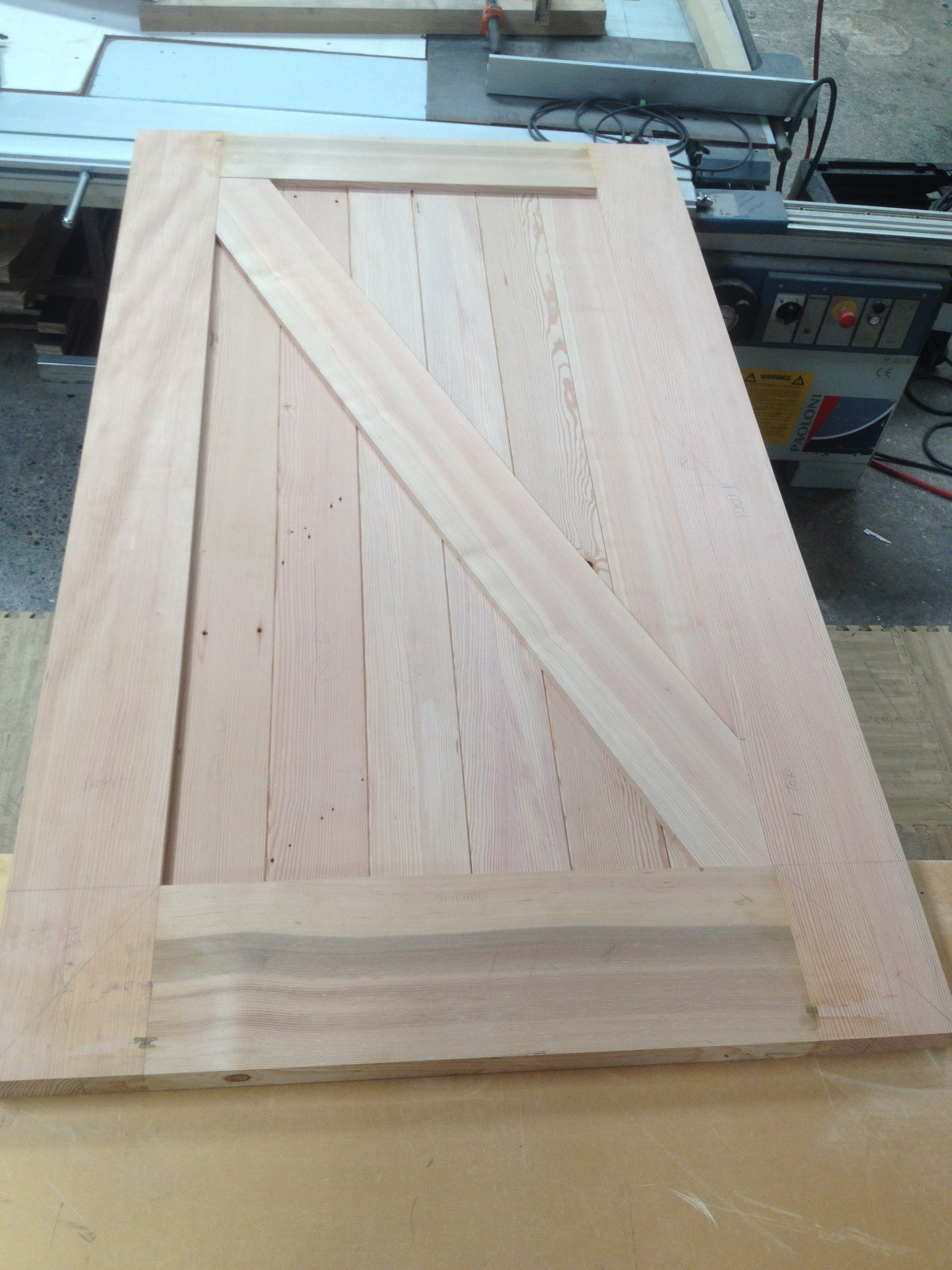 Salvaged Fir Barn Door.JPG
