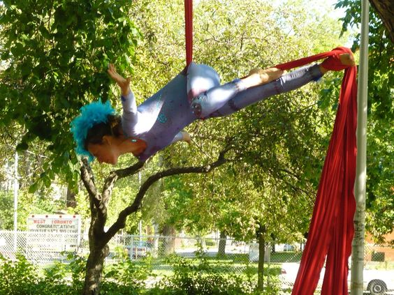 BAE silk artist in tree macgregor playground.jpg
