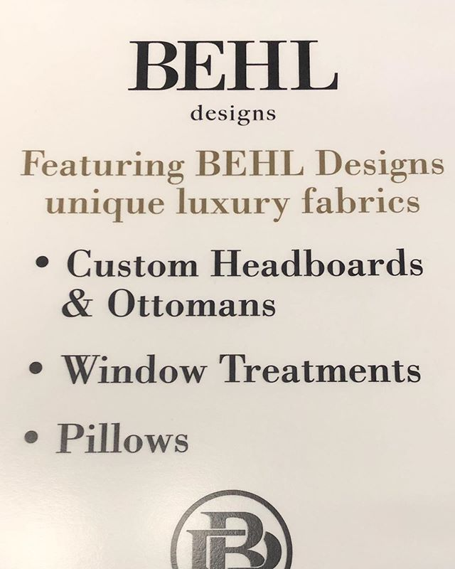 florijnHOME would like to welcome our newest designer, Priyanka Behl, of Behl Designs! We will now have beautiful fabrics for you to incorporate into your home and business decor. These fabrics will add that personal touch to make your space your own. Stop by and check them out!