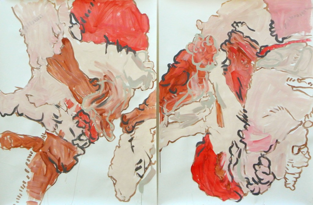 Meat Diptych