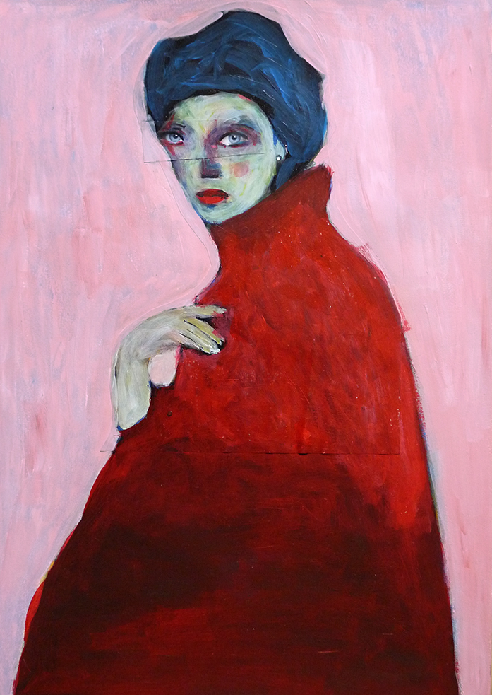 La robe rouge (the red dress)