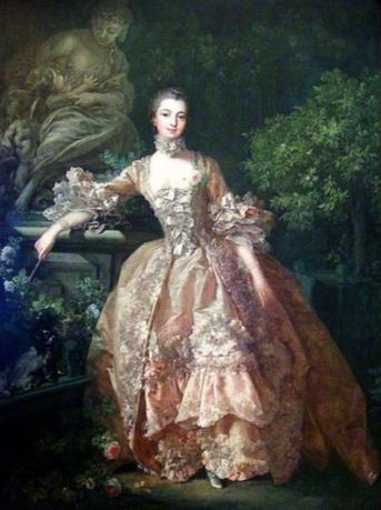 Boucher, F. (1759) Portrait of Marquise de Pompadour