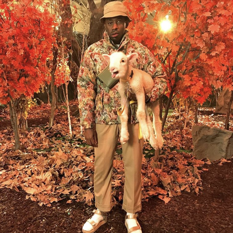 Tyler (@feliciathegoat on Instagram) for his label's AW18 collection