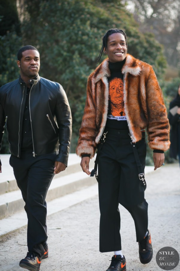 Rapper and style icon A$AP Rocky (image: styledumonde.com)