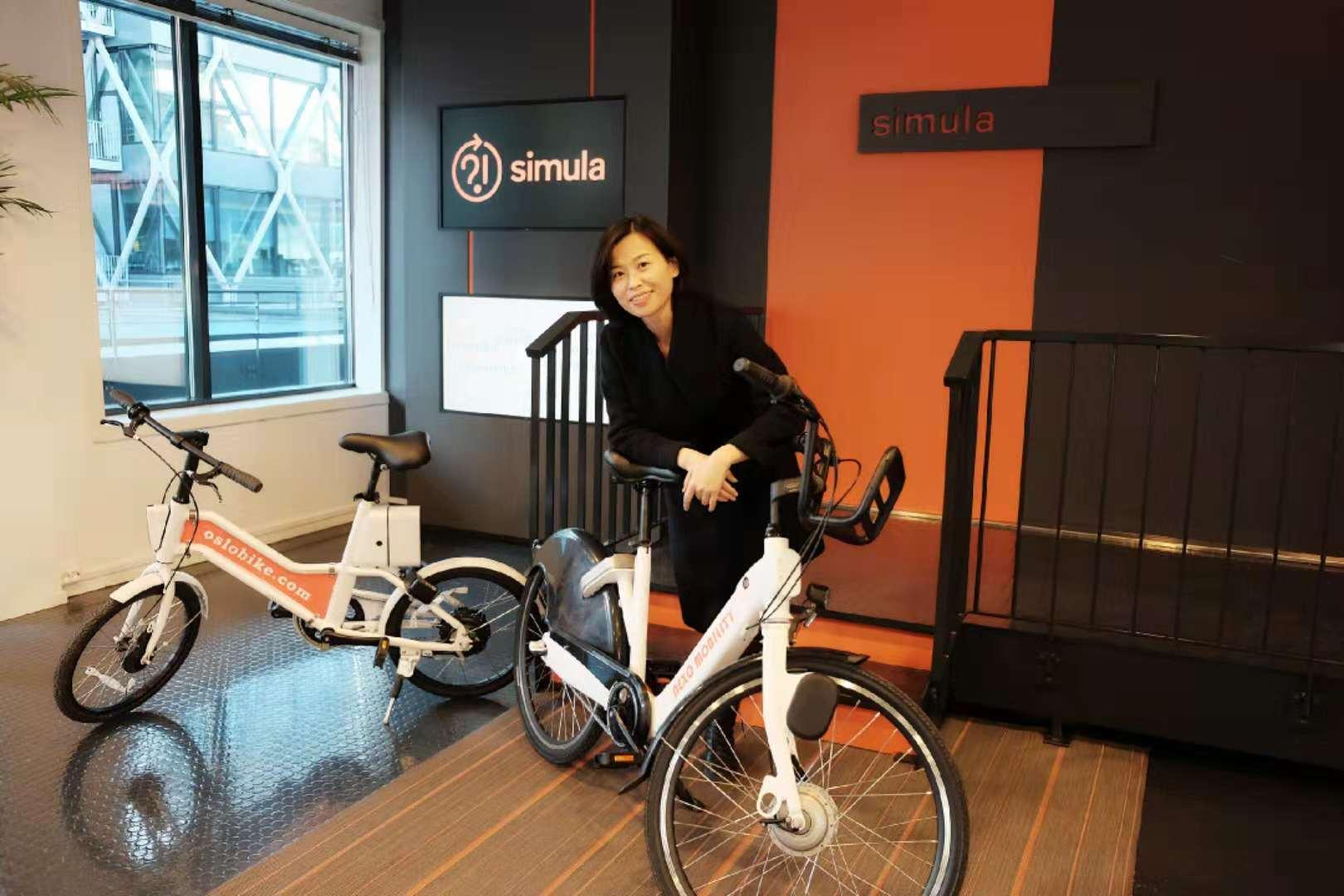 Julia Wei er grunnlegger av Oslobike og administrerende direktør i Nexo Mobility.