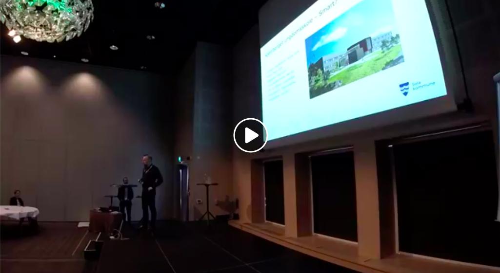 Video på facebook  https://www.facebook.com/smartebyernorge/videos/168726154047796/