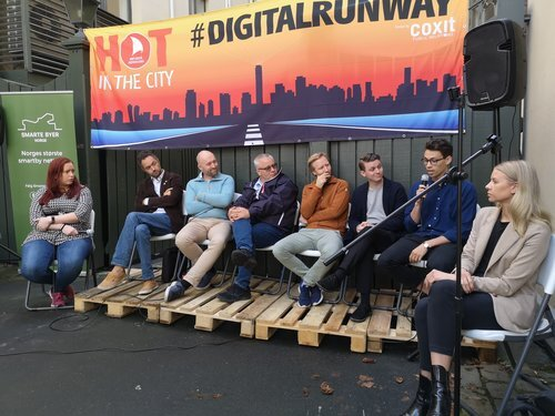Hot in the city. Smart Cities Norway kicked off our events with a kick bike debate
