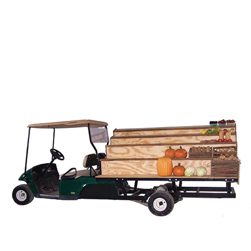 MOBILE PRODUCE STAND