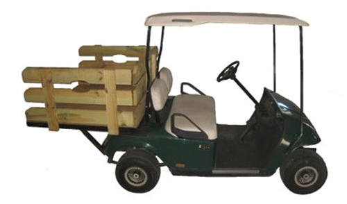 electric stakebed utility truck
