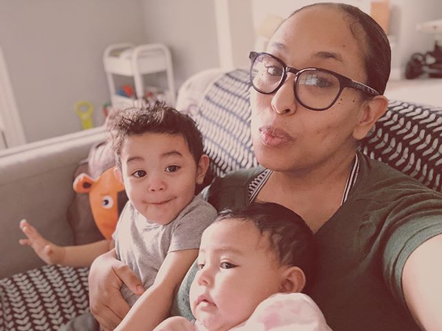 ✨Happy Hump Day from me and my cuties✨ Also i can't with Martins face and Leia is not having it 😂😂 : : : : : : : : : : : : : #mommy #momlife #mommoments #mommyblogger #parent #parentlife #parentlifestyle #mompreneur #momswithcameras #motherhood #heymommas #heymomma #2under2 #momlifestyle #momlifestyleblogger #mixedbabies #brownbabies #mexicanbabies #latinamom #blackmomsblog #blackmoms #stlouismo #momsofinstagram #stayathomemoms #parentsofinstagram #momsofig #bigbrother #littlesister #babiesofig #babiesofinstagram
