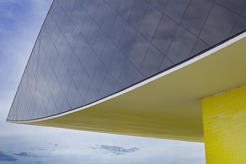 "The 'Eye"" of the Oscar Niemeyer Museum"