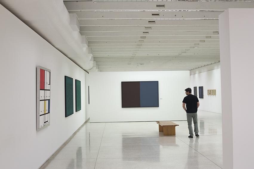 Exhibition View, Obras sob a Guarda do MON