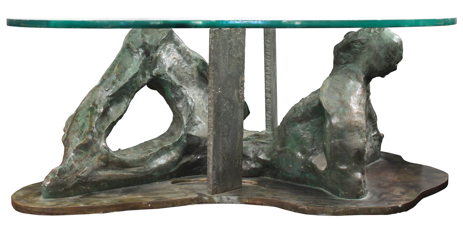 Laverne 450 Male Reclining bronze coffeetable361 detail1 hires.jpg