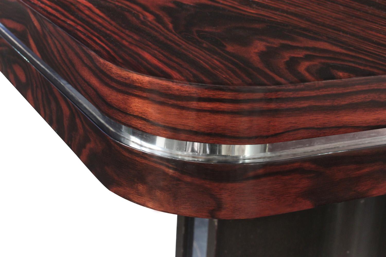 Parzinger 350 Macassr+chrome diningtable148 detail4 hires.jpg